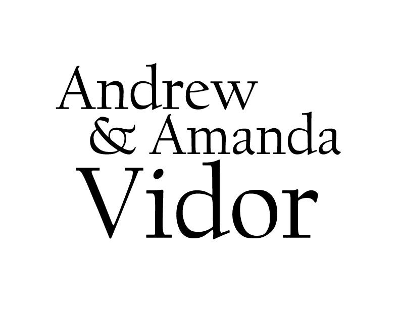 Andrew and Amanda Vidor