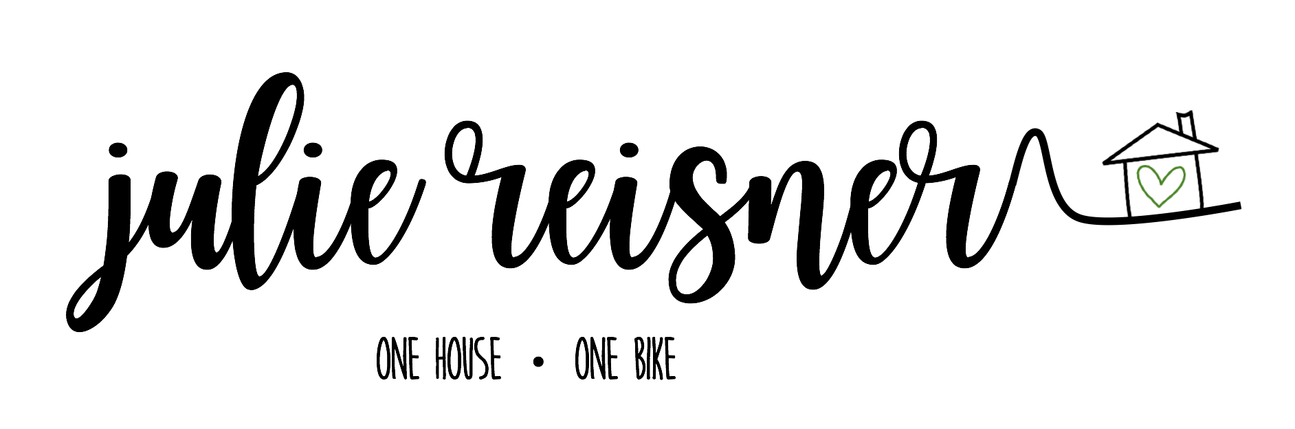 Julie One House One Bike Logo